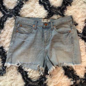 Madewell Boyfriend Cutoff Shorts